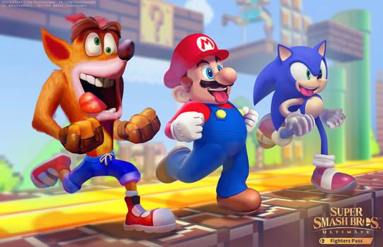 Crash for Smash - Nintendo Direct - SSBU 2021