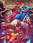Pillar Capcom Men