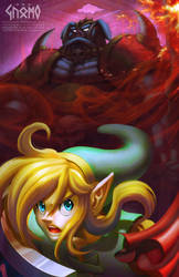 A Link to the Dark World