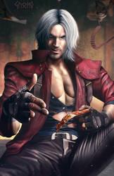 Dante - Devil May Cry 5 by DasGnomo