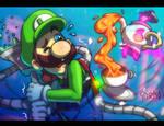 Luigi's Pokemansion 01 by DasGnomo