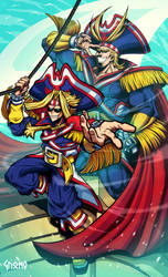 [BNHA] Captain Yarr Might - Pirate AU