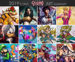 DasGnomo 2019's Art Summary