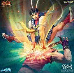 Sakura Otoshi - Street Fighter - Official