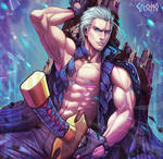 Vergil - You Want This Power Then Come Try Take It