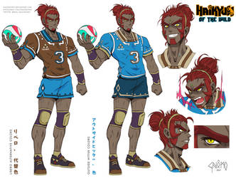 Haikyuu of the Wild - Ganondorf Sheet