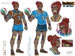 Haikyuu of the Wild - Ganondorf Sheet by DasGnomo