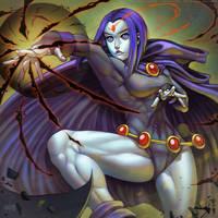 Raven - Teen Titans - Fan Art