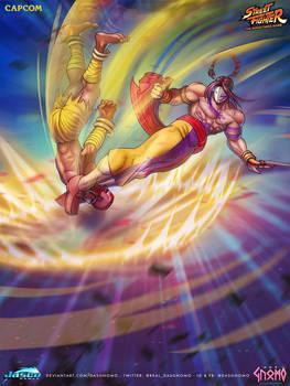 Vega Crescent Line - Street Fighter - Official
