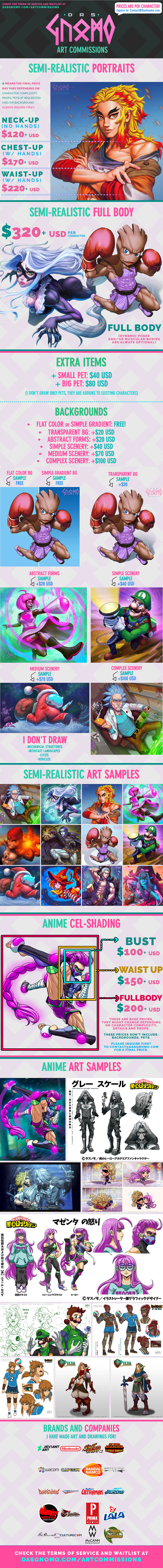 DasGnomo Art Commissions - Read TOS first