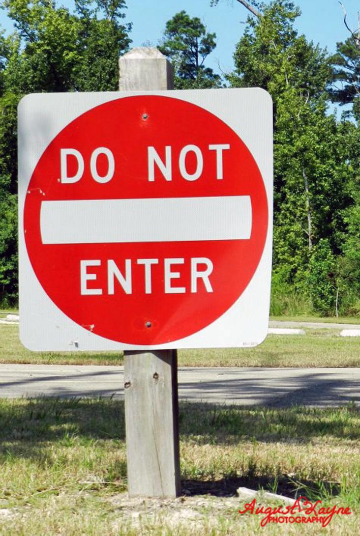 Do Not Enter Sign by ALPStock on DeviantArt