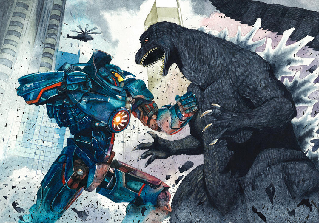 Godzilla VS Gipsy Danger by LoveCrossover on DeviantArt Pacific Rim Vs Godzilla