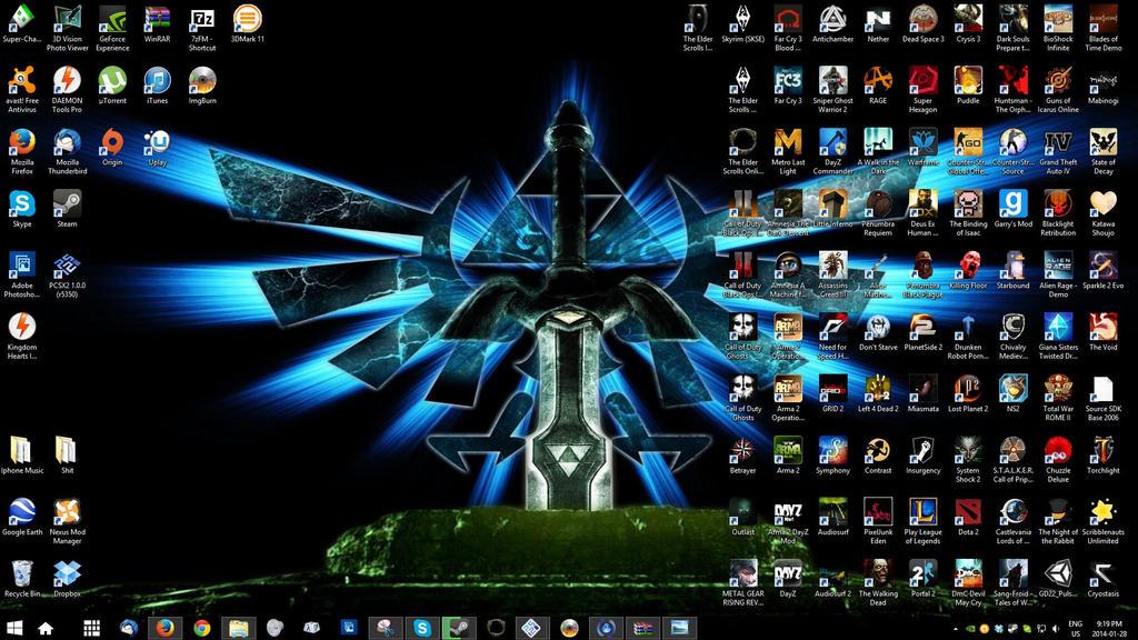 Win8 Gaming PC Desktop. by XSleepingCielX