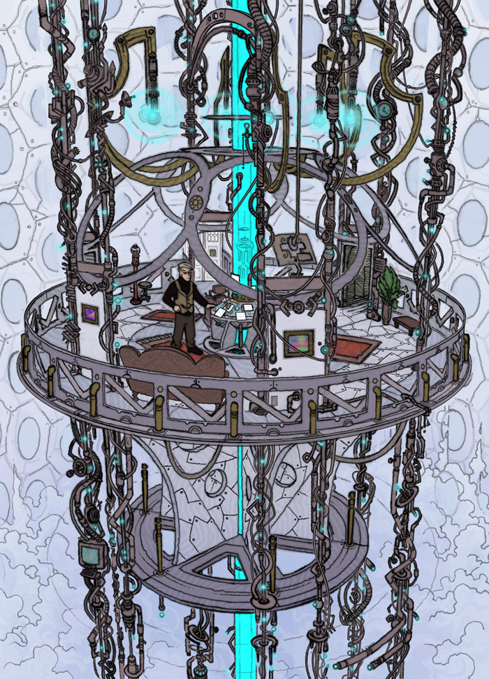 My TARDIS by JoeEngland