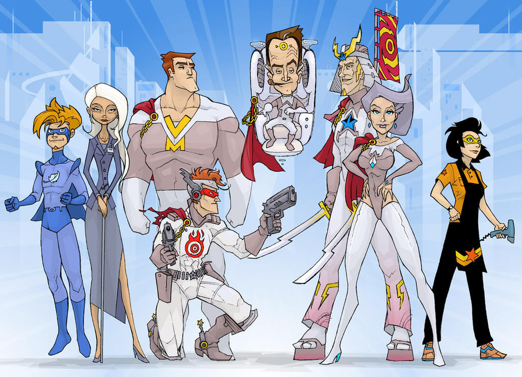 TIR: Heroes of the Future by JoeEngland