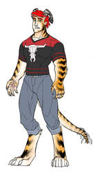 For the Fics: Tiger Boy by JoeEngland