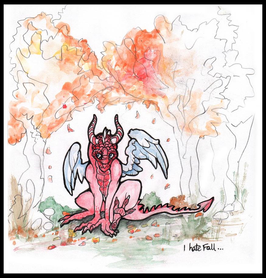 Dragons Hate Fall by Liren