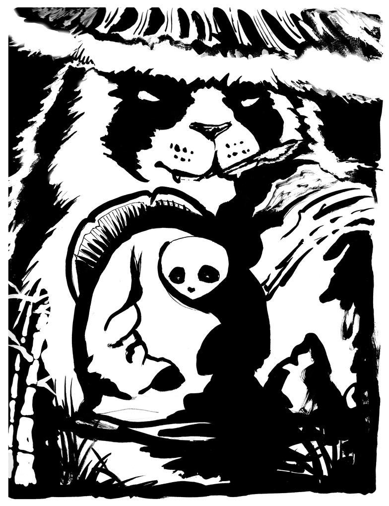 Pandaren Warrior by Liren