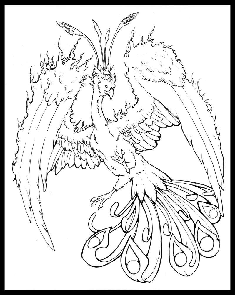 Phoenix Rising by Liren