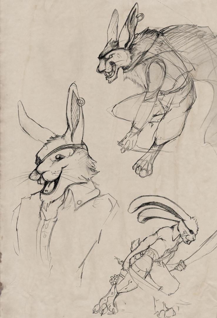 Concept Sketches by Liren