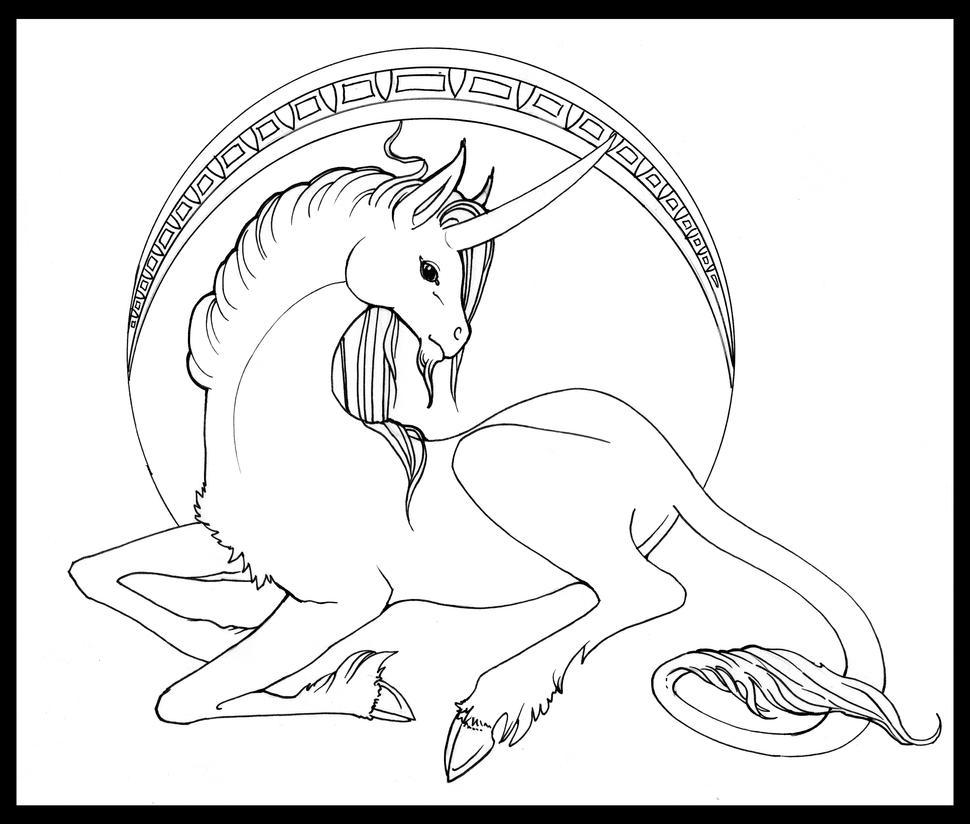 Unicorn Nouveau by Liren