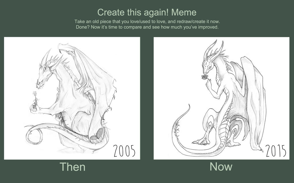 Before and  After - Dragons by Liren
