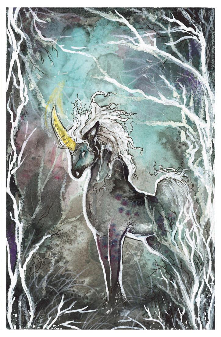 Dark Unicorn by Liren