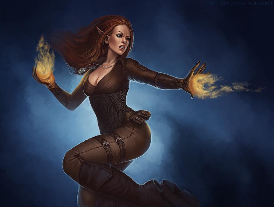 Firethrower by sashulka