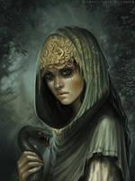 Mistress of snake by schastlivaya-ch