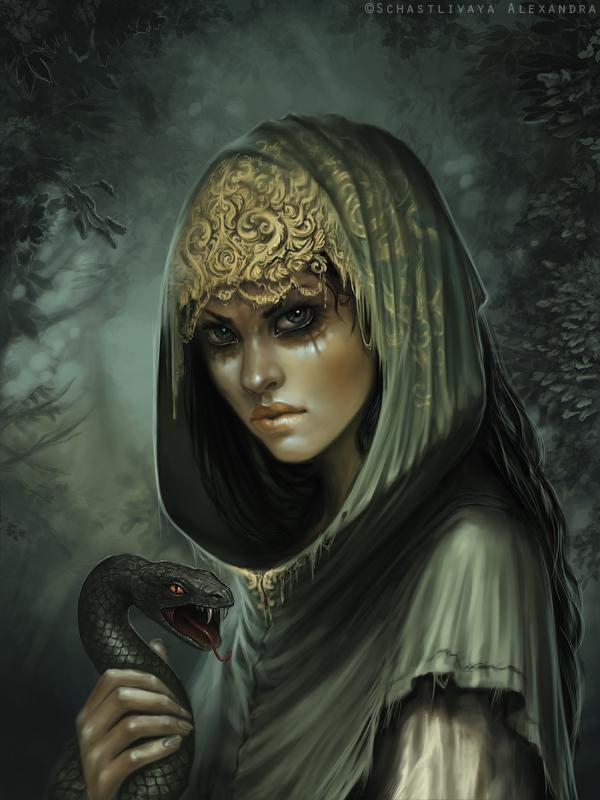 Mistress of snake by sashulka