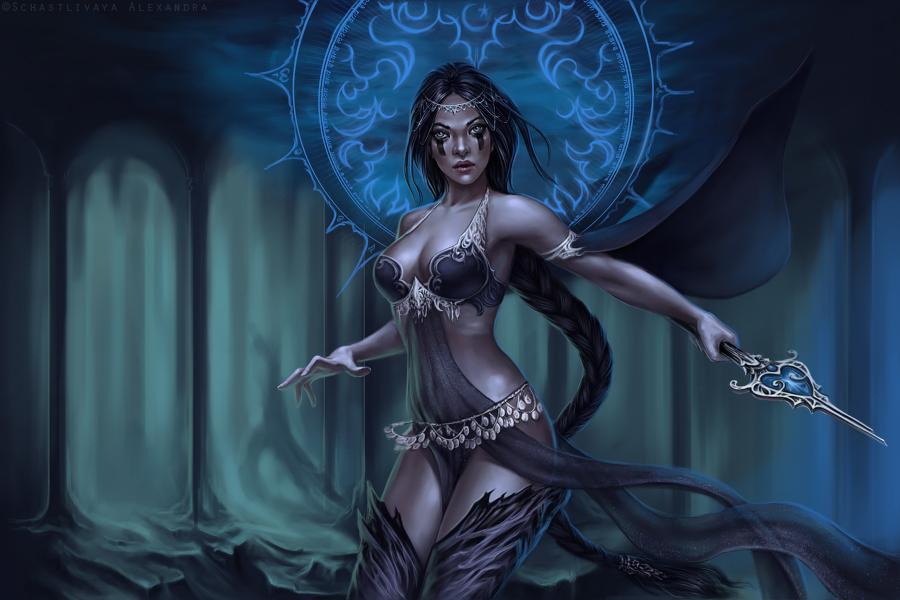 Luna by sashulka