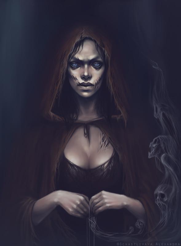 She, who weaves nightmares by sashulka