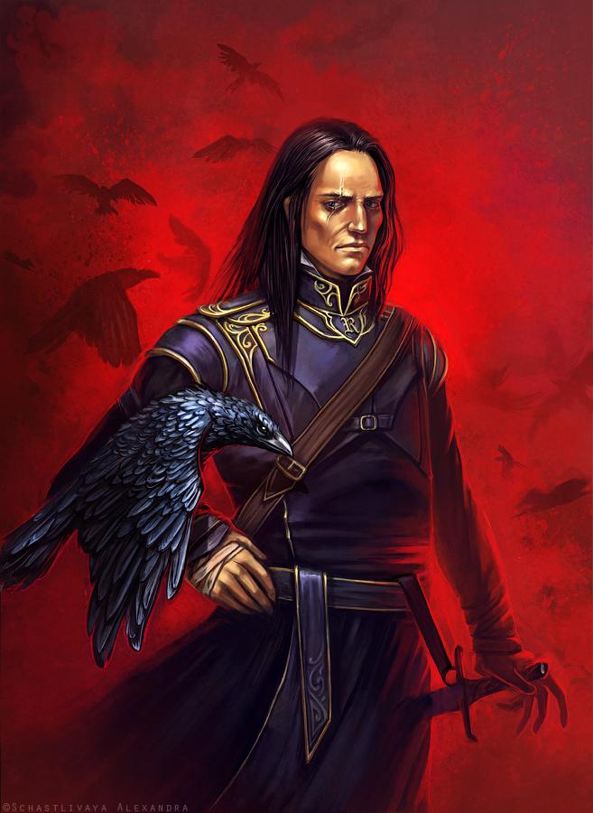 Ravenlord by sashulka