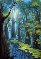 Secret pathway by schastlivaya-ch