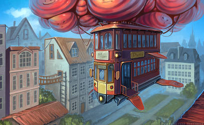 Air-tram by schastlivaya-ch