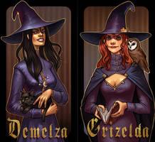 Demelza and Grizelda by schastlivaya-ch