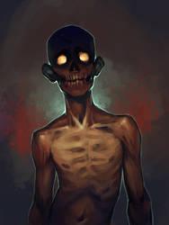 Zombie Sketch by schastlivaya-ch