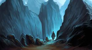 Blue rocks by schastlivaya-ch