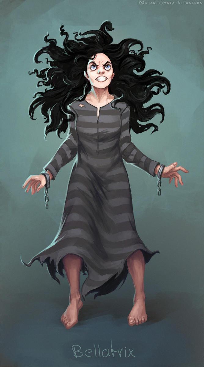 Bellatrix Lestrange by sashulka