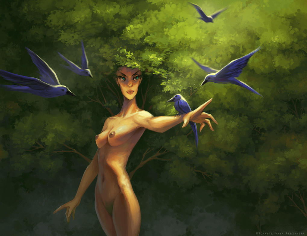 Spirit of summer by sashulka