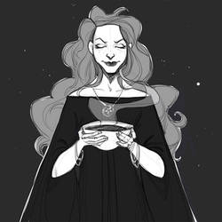 Good witch sketch by schastlivaya-ch