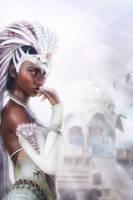 Priestess by deathbycanon