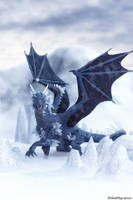 Ice Dragon by deathbycanon
