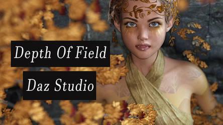 Depth of Field in DAz Studio 4.10