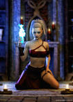 Wicked Sorceress by deathbycanon