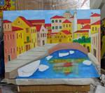 Venetian scene WIP