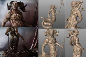 The Demon Guard by kolakis