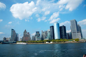 A view of Manhattan by hellslord