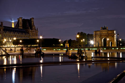 A typical night in Paris