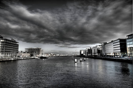 The last view of Dublin
